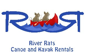 River Rates Canoe and Kayak Rentals logo.
