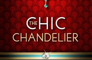 The Chic Chandelier logo.