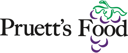 Pruett's Food logo.