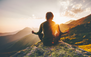 benefit from traveling & meditating in nature
